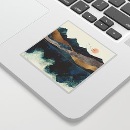 Blue Mountain Reflection Sticker