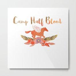 camp half blood floral Metal Print