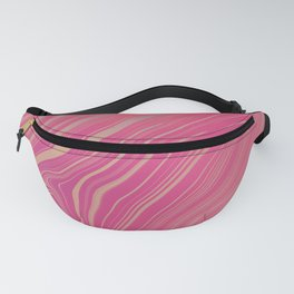 BLUSH - bubblegum pink & hints of peach lilac Fanny Pack