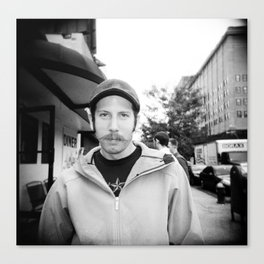 NYC holga portraits 4 Canvas Print