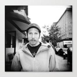 NYC holga portraits 4 Canvas Print