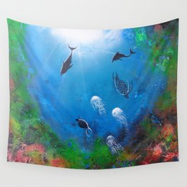 Seaworld Wall Tapestry
