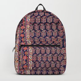 Afshar Persian Kerman  Antique Rug Backpack
