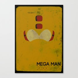 Mega Man Helmet Series  Canvas Print