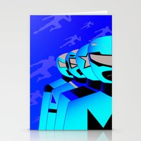 power rangers Stationery Cards featuring power rangers legacy by magnificent