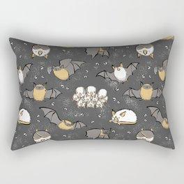 Pipistrelle and Honduran Bats Rectangular Pillow