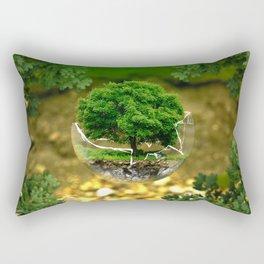 Environmental Protection Nature Rectangular Pillow