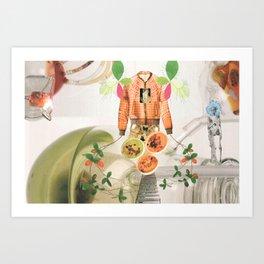 Propagation 1 Art Print