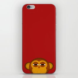 Pocket monkey is highly suspicious iPhone Skin