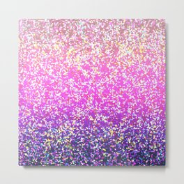 Glitter Graphic Background G104 Metal Print