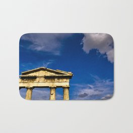 "Gate of ""Archegetis Athena"" in ancient site of Roman Forum in Athens, Greece Bath Mat"