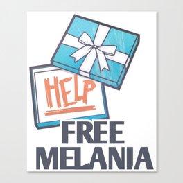 Free Melania Canvas Print