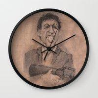 montana Wall Clocks featuring Montana by chadizms