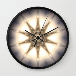 Diamond Light Mandala Wall Clock