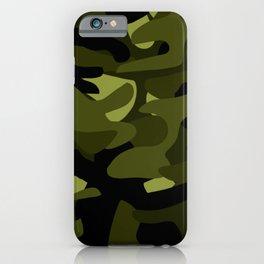 Dark Camo iPhone Case