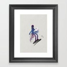 a s t r o g a n g a Framed Art Print