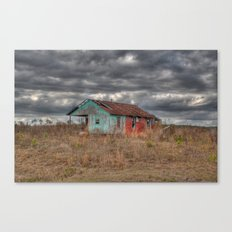 Lonely Old House on the Hill Canvas Print