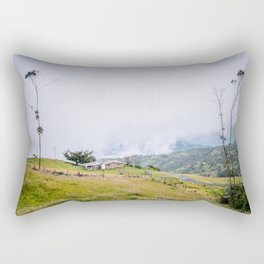Colombian Farm Rectangular Pillow