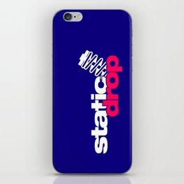Static drop v2 HQvector iPhone Skin