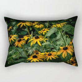 Black Eyed Susan's, Central Park Rectangular Pillow
