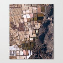 Salinas of Lanzarote Canvas Print