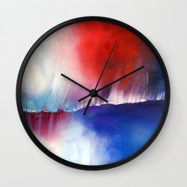 Above & Beyond by Nadia J Art Wall Clock