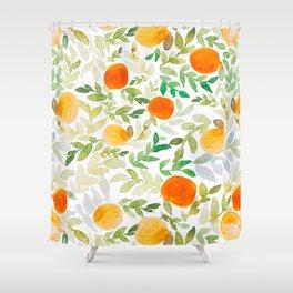 Orange You Happy Shower Curtain