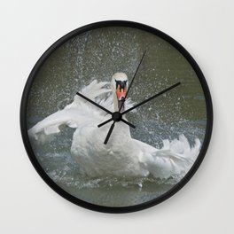 Splish Splash Wall Clock