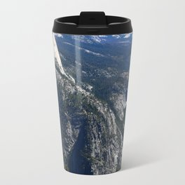 Imposing Glacier Point View Travel Mug