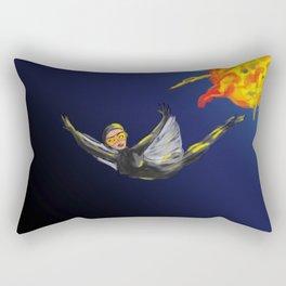 Capt Danyerova. Mission accomplished Rectangular Pillow