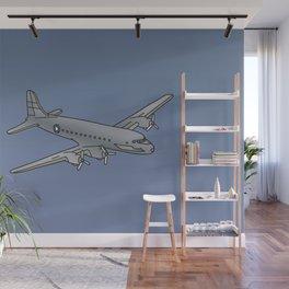 Propeller plane, raisin bomber Wall Mural