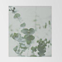 EUCALYPTUS GREEN 2 Throw Blanket