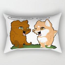 Friendship Rectangular Pillow