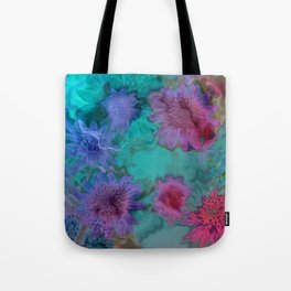 Flowers abstract #2 Tote Bag