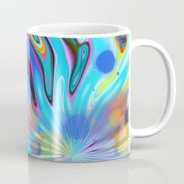 Abstract splash and water colour droplets Coffee Mug