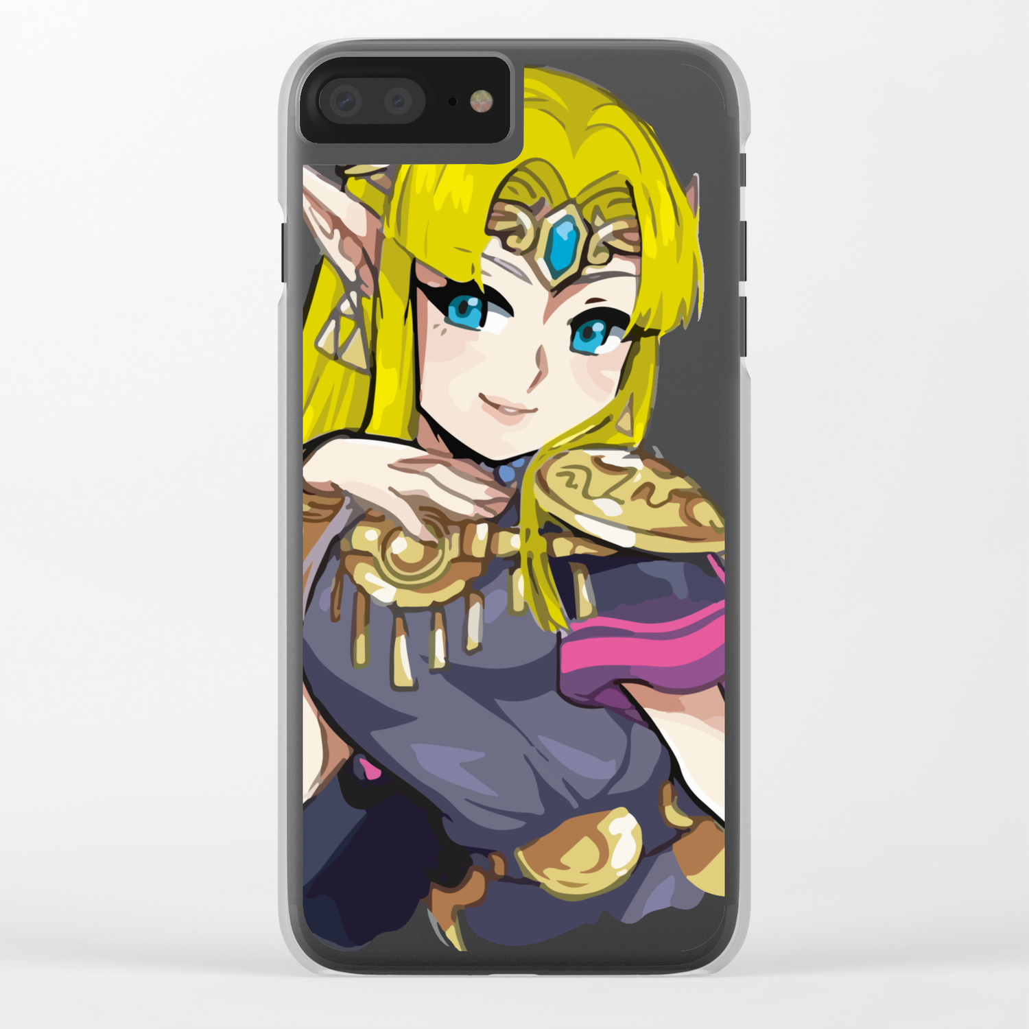 Zelda Super Smash Bros iphone case
