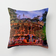 Turnin' Throw Pillow