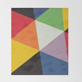 SWISS MODERNISM (MAX BILL) Throw Blanket