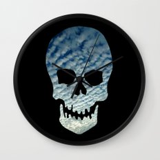 Sky Skull Wall Clock