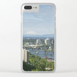 Portland, Oregon Clear iPhone Case