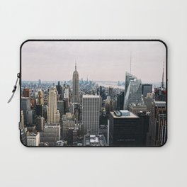 New York skyline from Top of the Rock Laptop Sleeve
