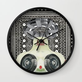 Our Lady of the Dinah Moe Hum Wall Clock