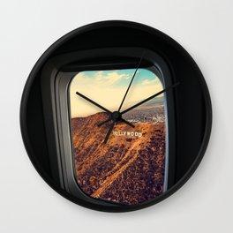 Bye bye american dream Wall Clock