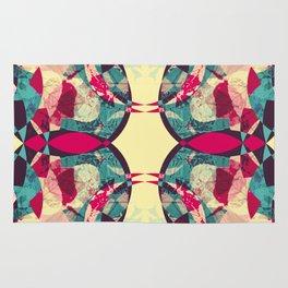 Bohemian Art, Abstract Rug