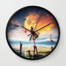 Le Gran Finale Wall Clock