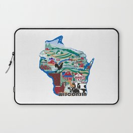 Wisconsin Country Sampler Laptop Sleeve