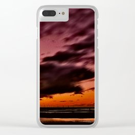 Storm at the Beach Clear iPhone Case