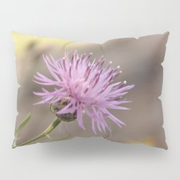 Purple Flowers Vintage on the Beach Pillow Sham