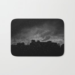 Rainy Day in Brussels Bath Mat
