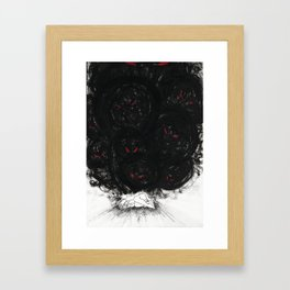 Monsters in your head Framed Art Print